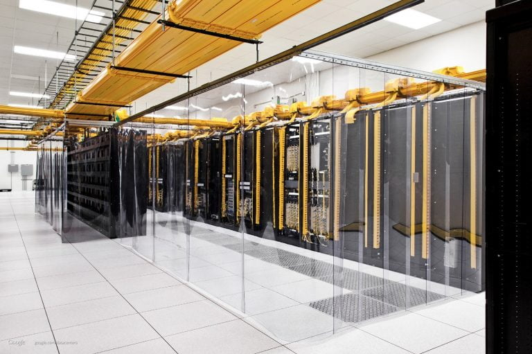 Żródło: Google Data Centers